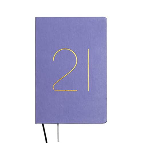 Cuadernos Cuaderno para trabajos Funda Dura 5.8 x 8.2 Pulgadas para la escuela para niños Escribir PADS Libros 201 hojas Diario (Color : Blue)