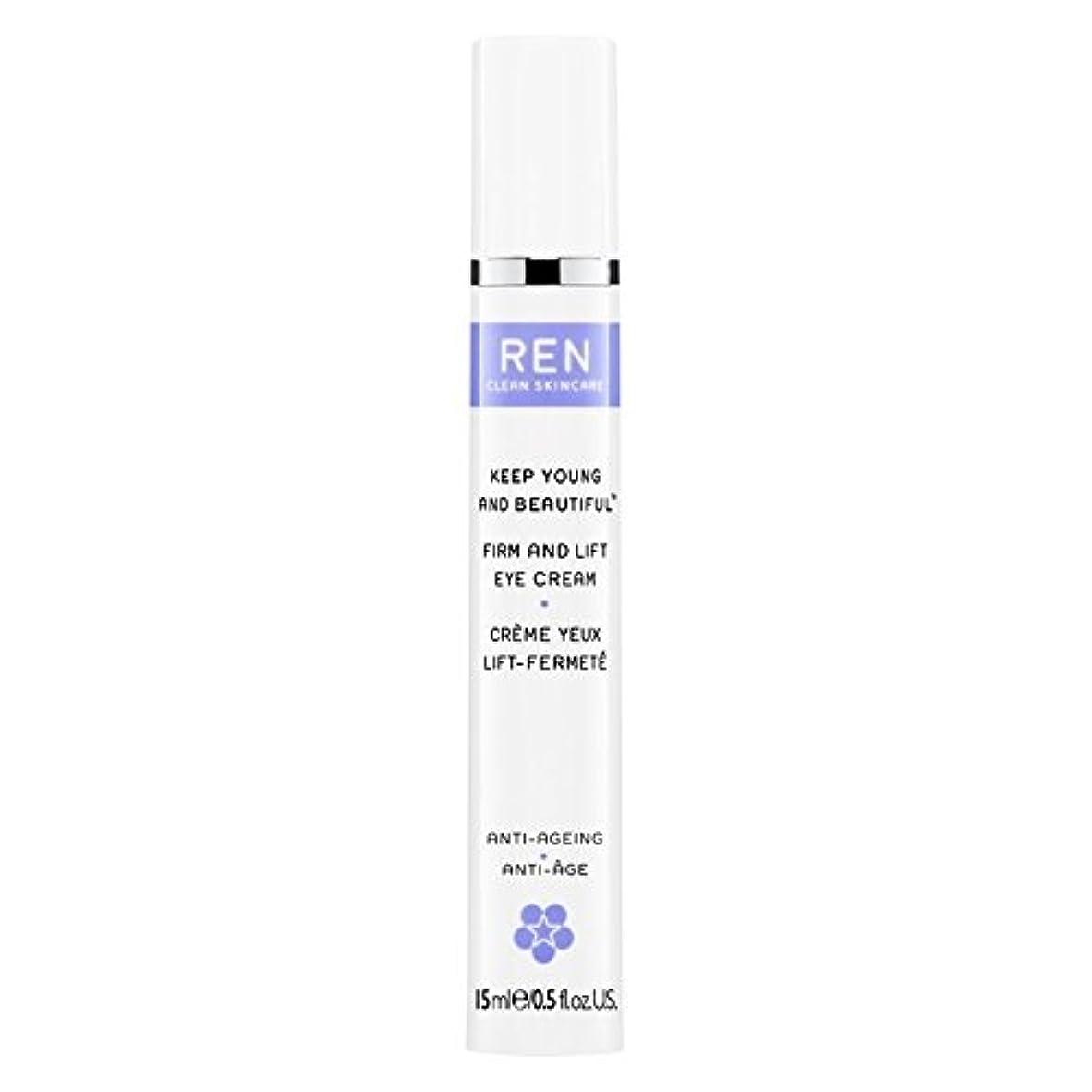 驚くべきシェード回想Ren若くて美しい?しっかりとリフトアイクリーム15ミリリットルを保ちます (REN) (x6) - REN Keep Young and Beautiful? Firm and Lift Eye Cream 15ml (Pack of 6) [並行輸入品]