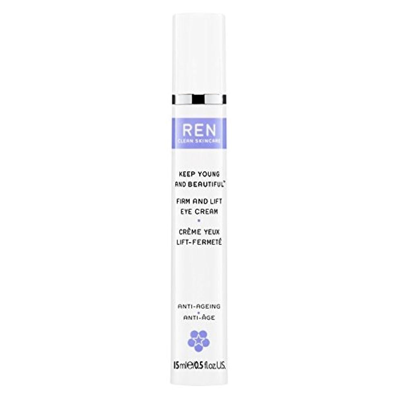 アセ驚くばかり限界Ren若くて美しい?しっかりとリフトアイクリーム15ミリリットルを保ちます (REN) (x6) - REN Keep Young and Beautiful? Firm and Lift Eye Cream 15ml (Pack of 6) [並行輸入品]