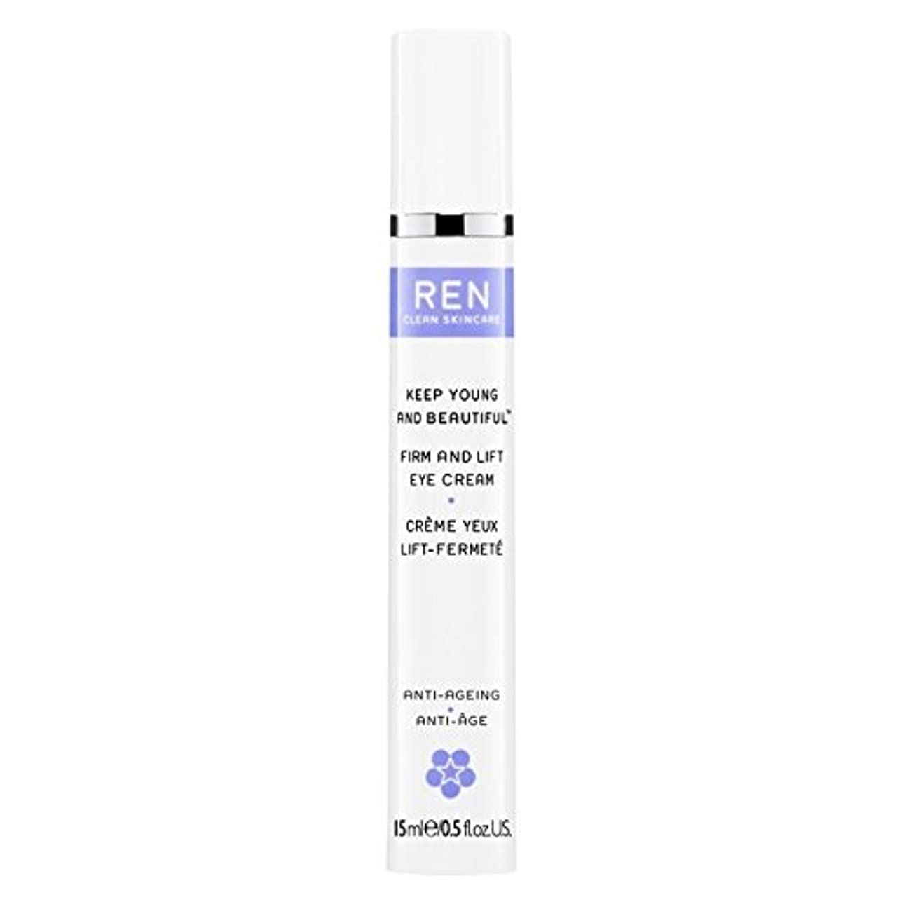 Ren若くて美しい?しっかりとリフトアイクリーム15ミリリットルを保ちます (REN) (x6) - REN Keep Young and Beautiful? Firm and Lift Eye Cream 15ml (Pack of 6) [並行輸入品]