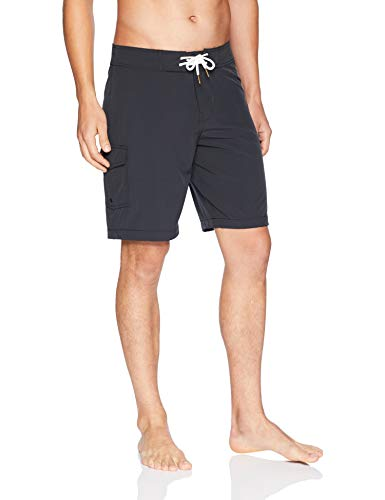 Goodthreads Swim Boardshort 9' Fashion-Board-Shorts, Noir, 31