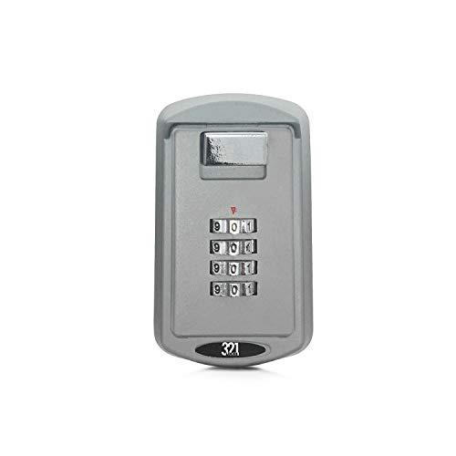 321 Locks Key Lock Box LB-10 - Premium Storage Box for Outside Master Key - Designed for Homes, Business, Realtors, Rental Properties, Property Managers, Airbnb