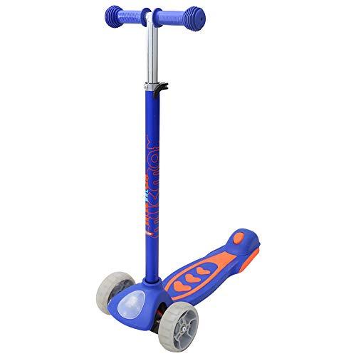 Arkmiido Kinder Scooter Roller mit LED Räder ,höhenverstellbarer Tretroller,globber Roller für Jungen und...