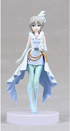Figura de Anime Figura de Anime él Idolm @ STER Cinderella Girls Anastasia Love Laika Figura de acción 18cm Decoración del hogar