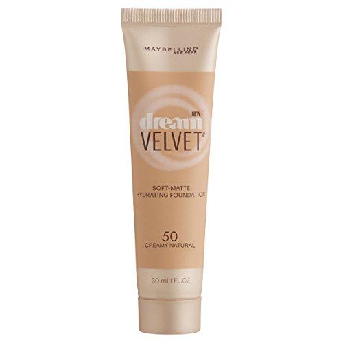 Maybelline Dream Velvet Soft-Matte Hydrating Foundation - 50 Creamy Natural