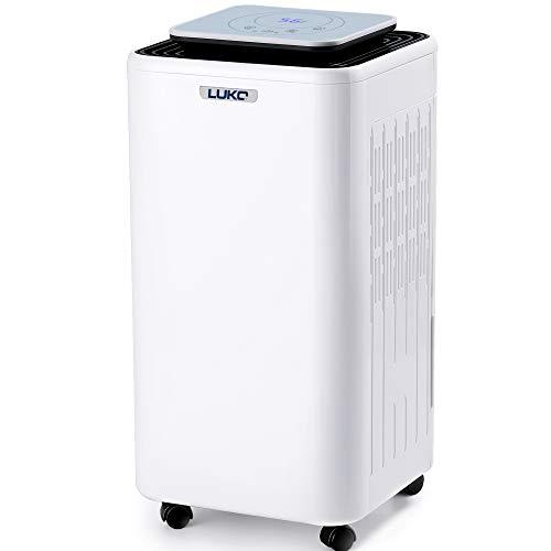 3. LUKO Deshumidificador Electrico, 12L