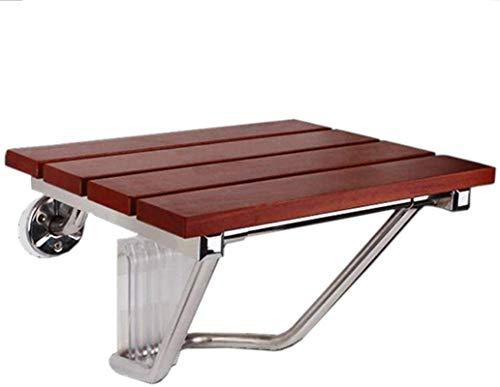 TUHFG Shower Stool Bath Seats Bath Stools,Shower Chair Bath Stool Wall Mount Ergonomic Folding Showering Seat Bench Bathroom Stool,30×25.8×29Cm,30×25.8×29Cm (Size : 38×33.8×29Cm)
