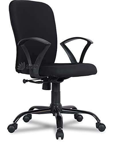Green Soul Seoul-X Chair (Metal, Smart Black)