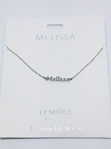 Collier Lumeila Marina De Buchi - Couleur argent - Présenté par Sterling Effectz