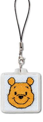 ディズニー 刺繍キット オリムパス ストラップ くまのプーさん/ST-7 [刺しゅうキット/ししゅう/クロスステッ
