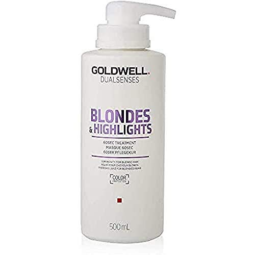 Goldwell Dualsenses Blondes & Highlights 60 seconds Treatment Pflegekur, 1er Pack (1 x 500 ml)