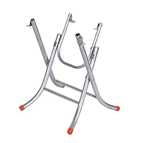 Furniture legs HXBH Klappbare Möbelbeine -Einfacher Stahlrahmen X-Typ Quadratischer Tisch Kleine Tischbeine Großer Stall Tischrahmen Eisentisch Fußablage Runder Tischrahmen aus Edelstahl