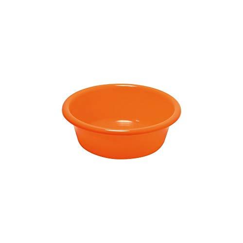 ALUMINIUM ET PLASTIQ Waschsch/üssel 38 cm quadratisch Orange 15 l