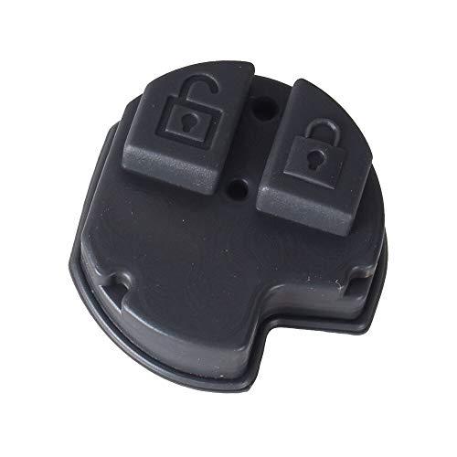 2 Buttons Remote Key Fob Rubber Pad for Suzuki Swift SX4 Liana Aerio Vitara Jimny Key Case Cover
