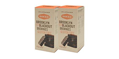 Baked Gluten Free Brooklyn Blackout Brownies, Dark Chocolate Chunks, 16.6 Ounce
