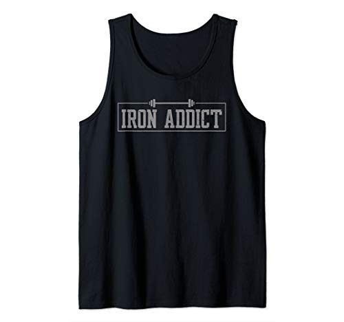 Iron Addict Gym Fitness Lifting Bodybuilder Workout Tank Top