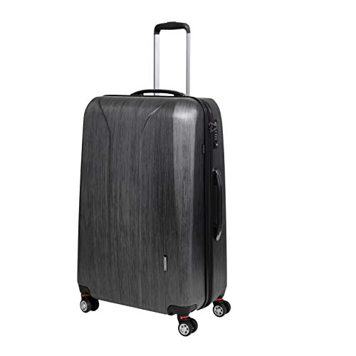 March 15 New Carat Special Edition 4-Rollen-Trolley L 75 cm black brushed