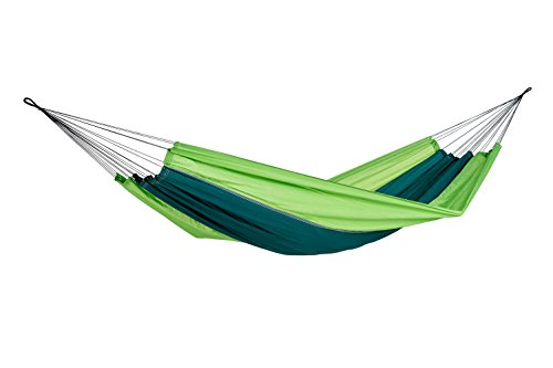 AMAZONAS Ultra-Light Hängematte Silk Traveller Forest 350g 220x140cm bis 150kg
