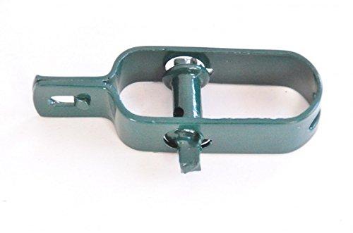 BURI 30 Stück Drahtspanner grün Seilspanner Zaunspanner Maschendrahtzaun
