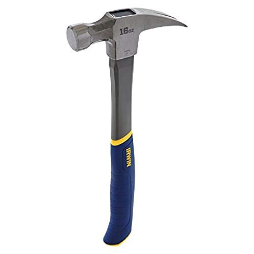 Irwin 16oz Steel & Fiberglass General Purpose Hammer  $8.99 at Amazon