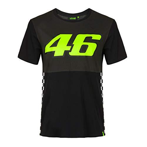 Valentino Rossi Collezione VR46 Classic T-Shirt Homme, Multicolore, XL