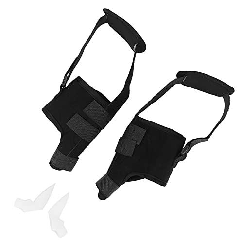 Separadores de juanetes, ayudan a mejorar los síntomas del hallux valgus corrigiendo la deformidad del dedo del pie Corrector de juanetes para la oficina, para viajar, para el hogar, para