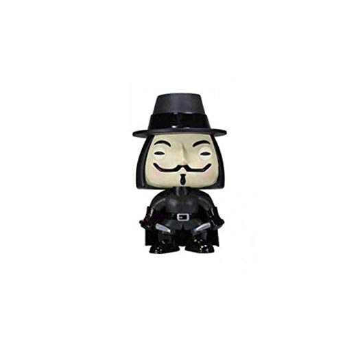 Apalldoo Funko POP V for Vendetta PVC Action Figure Collectible Model Toys for Chlidren Birthday Gift NO Box