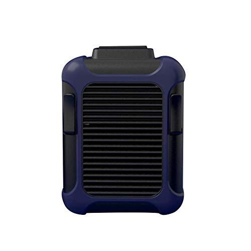 Mini ventilador de escritorio USB recargable 3 velocidades ajuste clip cintura ventilador portátil collar ventilador para interiores y exteriores viajes