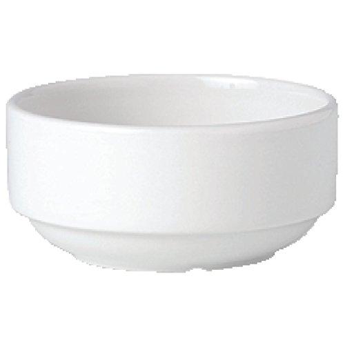 Steelite V0018Simplicity Stapeln Tasse Suppe, weiß (36Stück)