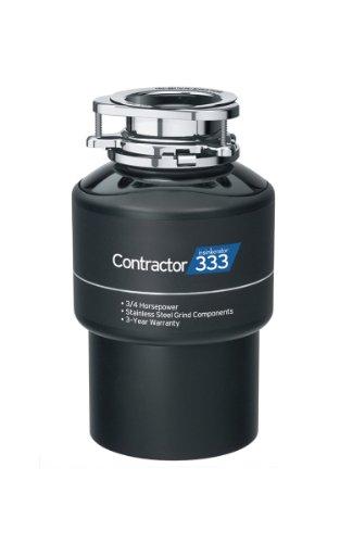 InSinkErator CNTR333 Contractor Garbage Disposal 3/4HP, 14.00 x 8.00 x 0.08...