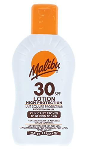 Malibu Protective Sun Lotion - Medium Protection SPF 20, 240 g