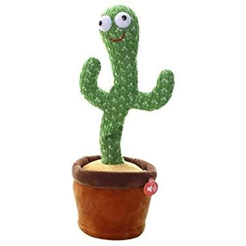 Cactus knuffels, cactus pluche speelgoed elektronische shake cactus plezier kinderen vroeg onderwijs educatief speelgoed 32 cm