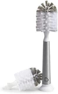 Munchkin Shine Stainless Steel Bottle Brush and Refill Brush Head