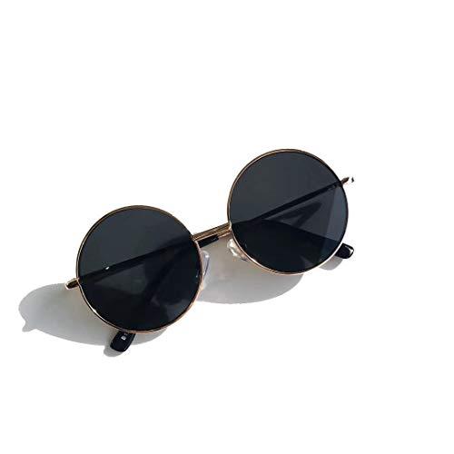 xingguang Gafas de sol de moda retro redondas para mujer, gafas de...