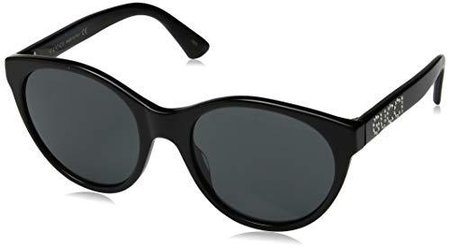 Gucci Damen GG0419S-001 Sonnenbrille, Schwarz (Negro), 54.0