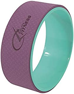 Fitness Minutes Wheel for Yoga Exercises 32X13cm, YW33-DP