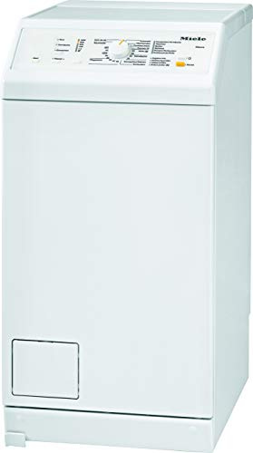 Miele WW 630 WCS Toplader Waschmaschine / 6 kg Schontrommel / autom. Trommelpositionierung und -arretierung / Fahrrahmen - mobile Aufstellung / Watercontrol-System / 1200 U/min [Energieklasse C]