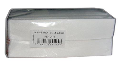 Storepil - Bandes lisses non-tissées - 250 pour épilation