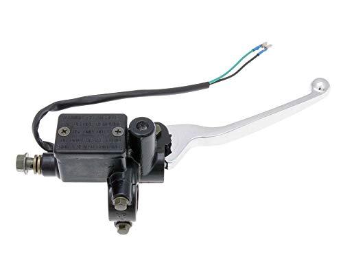 Bremszylinder inkl. Hebel vorn mit Spiegelaufnahme für Baotian-BT50QT-11 Retro