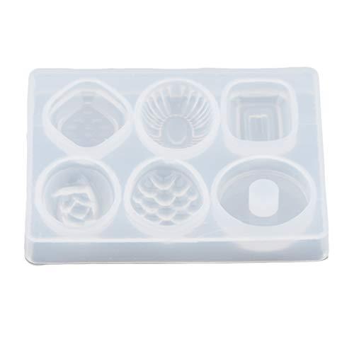 Sharplace 6X / Set Süßigkeiten Silikon Backform Silikonform Seifenformen Kuchenform Cake Mold