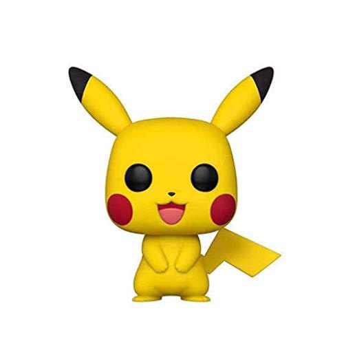 ZEwe Pop Pokemon-Flocked Bulbasaur Mini Pikachu Q VERSIÓN 3.9UTCHES COLECCIÓN ACCIÓN PVC Figura EP PVC