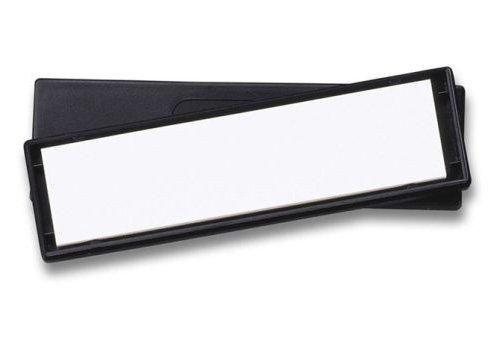 Spyderco Unisex– Erwachsene Messerschärfer Bench Stone Ultra Fine Schärfgerät, grau, 10