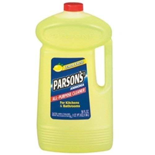 Parsons Ammonia All-Purpose Cleaner, Lemon, 56 oz (2 Pack)