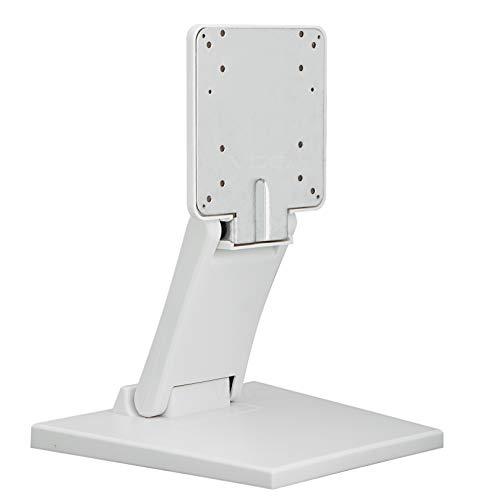VSG24 92005 – Staffa di Montaggio per Monitor POS o PC Touchscreen, Supporto per Display Stabile, Flessibile, Inclinabile e Regolabile, VESA, Metallo, per Schermi da 10 a 22 Pollici - Bianco