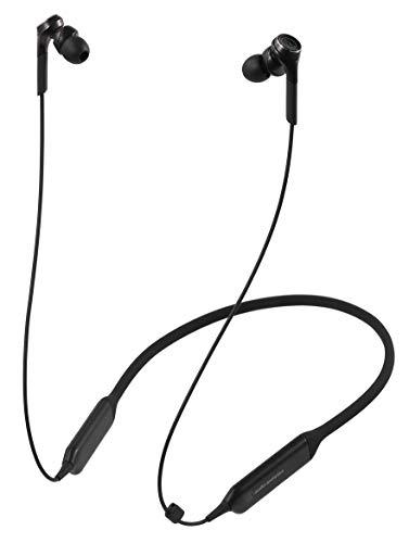 オーディオテクニカ Bluetooth対応 ダイナミック密閉型カナルイヤホン(ブラック)