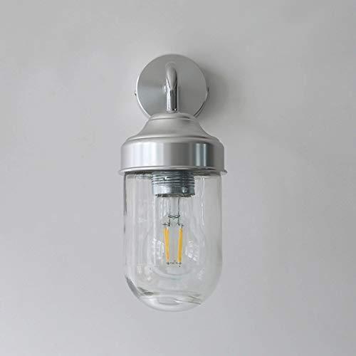 YI0877CHANG lámpara de Pared Lámpara de Pared de Vidrio Transparente Moderna de Vidrio Moderno para Dormitorio, aplicable al salón del Pasillo y la Sala de Estar del Hotel Iluminación de Pared
