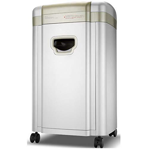 La trituradora de papel del hogar, la trituradora de papel de alta velocidad de 2 × 8 mm, puede triturar papel/CD, trituración continua de papel 90 min