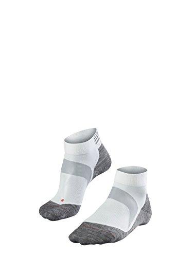 FALKE Unisex BC6 Racing, Fahrrad Socken für Damen und Herren aus Funktionsfaser, 1 er Pack, Weiß (White-Mix 2020), Größe: 39-41