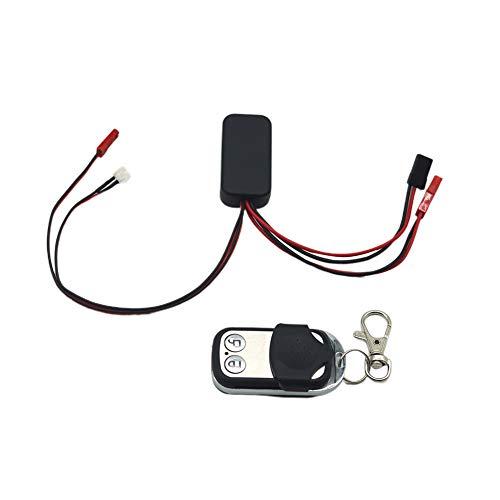 elegantstunning Contrôleur de treuil sans Fil pour Accessoires de Voiture de contrôle à Distance de Partie de Chenille de Voiture de RC Fiche JST + Dupont