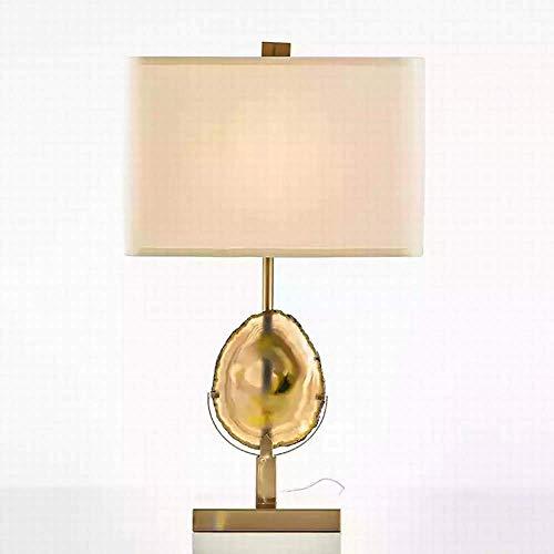 GDICONIC Lámpara de Mesa Lámpara de Mesa Moderna Moda Estilo Minimalista lámpara de Mesa Dise?Ador clásico mármol Modelo Sala de Estar lámpara 39 66 cm
